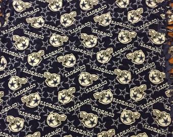 Dallas Cowboys Fleece Tie Blanket