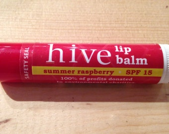 Summer Raspberry Hive Lip Balm