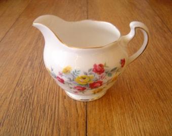 Crown Royal Milk Jug / Creamer, Made in England, Bone China,VGC, Vintage.