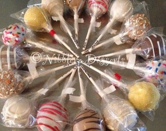Sweet 16 Sampler Box of 16 cake pops, choose up to 4 different flavors