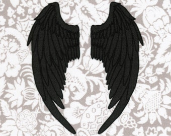 Angel Wings: Supernatural fabric print