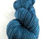 Turcosa - Hand Dyed Superwash Merino Silk Lace Yarn