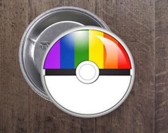 LGBT Pokeball button