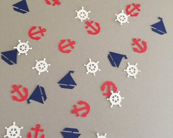 Nautical Themed Table/Card/Envelope Confetti
