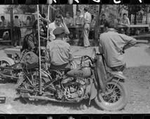 Vale, Oregon, Biker Gang, 1940's, Motorcycle, Founder, Photo Print
