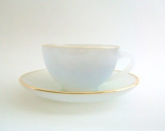 Demitasse Teacup, Gray Teacup, Arcopal Teacup, Teacup & Saucer, Teacup Set, Demitasse Teacup, Lavender Teacup Set, Lavender Demitasse