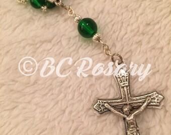 Catholic Single Decade Pocket Rosary