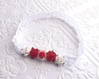The Red and White Pixie Crown