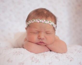 The Pink Amelie Rose Headband
