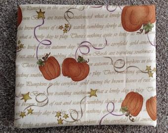 Fabric: HALF YARD Tan Pumpkins - by Henry Glass for Buggy Barn Fabrics