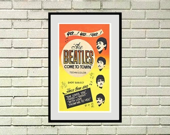Reprint of a vintage Beatles Poster