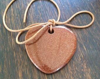 Gold Stone Heart