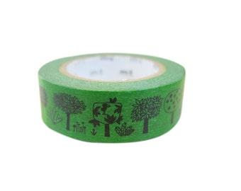 MT Washi Masking Tapes - Tree