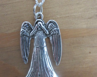 Weeping Angel Necklace