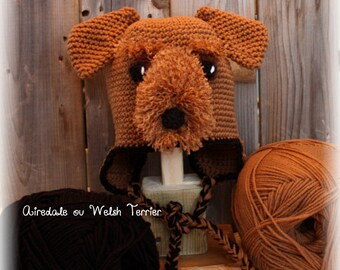 Bonnet Airedale or Welsh terrier (on order)