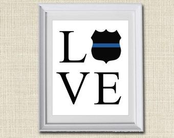 Police Home Decor | Etsy