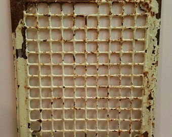 Beautiful Architectural Industrial Antique Grate