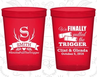 We finally pulled the trigger, Imprinted Stadium Cups, Shotgun Wedding Cups, Antler Cups, Plastic Beer Cups (564)