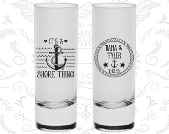 Its a Shore Thing, Shooter Glasses, Anchor Shooters, Nautical Wedding Shooters, Custom Shooters (490)