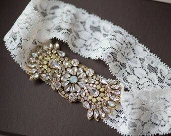 Bridal Lace Garter set - Style R64 (Ready to ship)