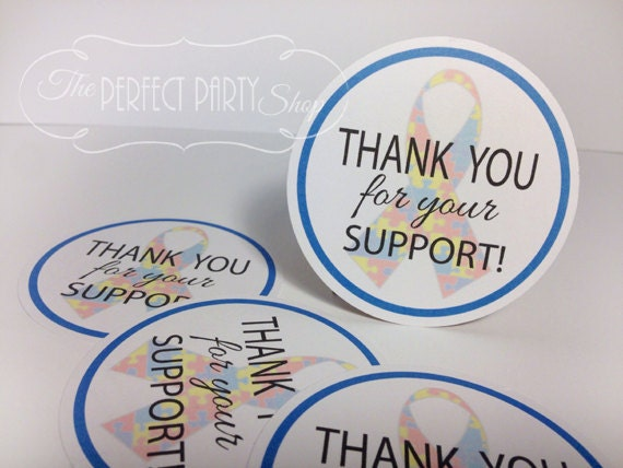 Thank You For Baking: Thank You For Your Support Awareness Ribbon By