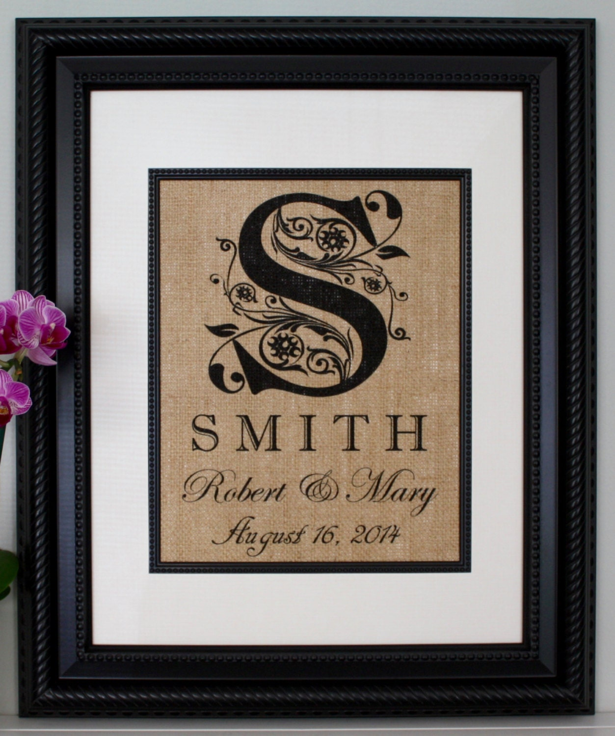 Monogramed Wedding Gifts