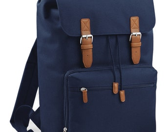 Vintage Style Laptop Backpack