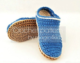 """Crochet pattern- toddler rope soles,10 sizes: 5"""" to 8 5/8"""",kids crochet soles,boy,girl,footwear,slippers,boots,loafers,cord,twine"""