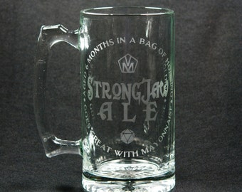 Strongjaw Ale Critical Role Stein