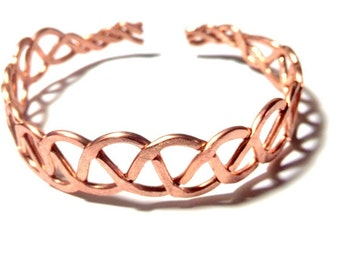 Bracelet Braided Copper