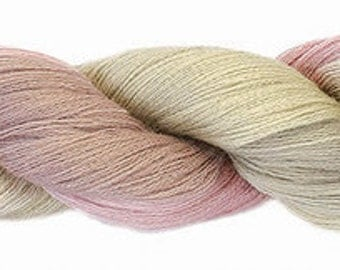 Mohair merino 2ply laceweight shade 281
