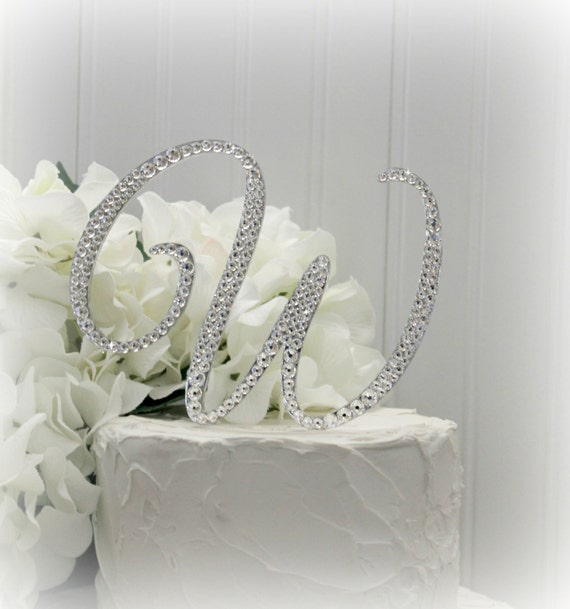 letter c wedding cake topper items similar to 5 quot wedding cake topper monogram cake 16832