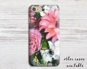 Phone Case, iPhone 7, 6, 5S, 5C, 4S, Samsung Galaxy S3 / S4 / S5 Flower