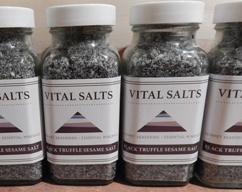 Black Truffle Sesame Salt