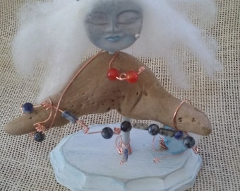 Blue Moon pagan doll majick energy