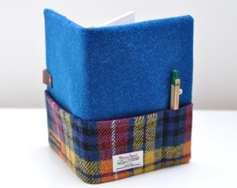 HARRIS TWEED fabric notebook cover - Bespoke Collection (Notebook included)