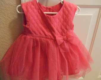 18 Mos. Little Girl's Party Dress