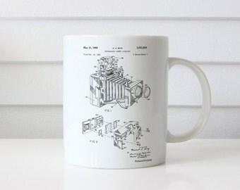 1966 Camera Accessory Mug, Photographic Camera Accessory Patent, Photography, Camera Patent, PP0034