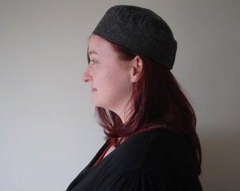 Pannonian cap - wool with linen lining