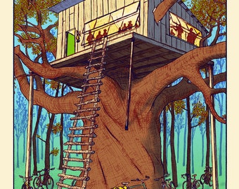 Treehouse Party