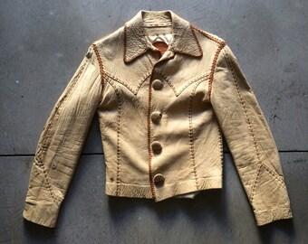 Vintage 1970's North Beach Leather Jacket