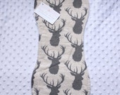 Deer Burp Cloth // Gender Neutral Burp Cloth // Baby Girl Shower Gift // Baby Boy Shower Gift // New Mom Gift // Burp Cloth // New Baby