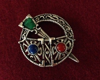 Celtic Kilt Pin from Ireland