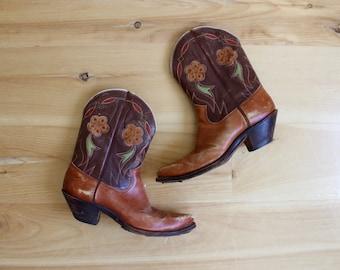 Vintage 1940s Olsen Stelzer PEE WEE Cowboy Boots