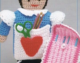 Crochet Hook Case Pattern - Handy Hook Holders Crochet Pattern - Crochet Hook Case - Annie's Attic 8B013