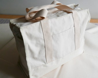 Blank Canvas Soft Dog Tote