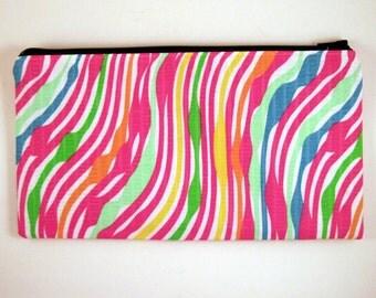 Colorful Pencil Case, Pencil Pouch, Zipper Pouch, Make Up Bag, Gadget Bag