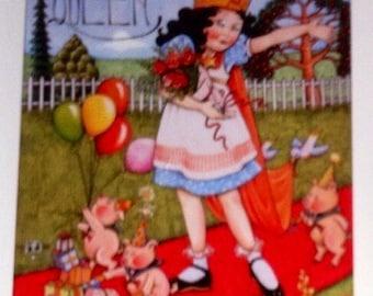 Mary Englebreit / Birthday Invitations