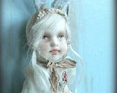 Teddy-doll OOAK Art doll With Antique Hands Pretty-baby 1