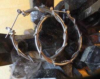 Amazing Silver Plate Earrings